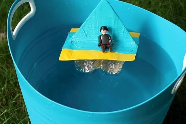 Water Bottle Boat WOC